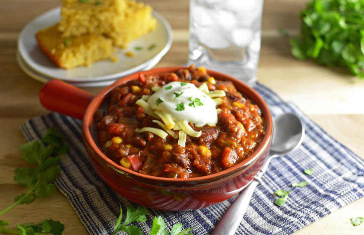 Crock Pot Vegetable Chili