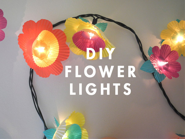 DIY Flower Lights
