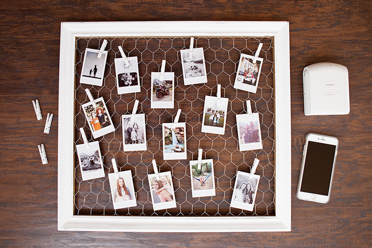 Diy Instax Photo Display