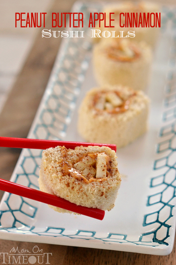 Apple Cinnamon Sushi Roll