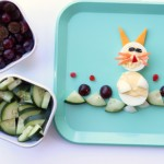 Bunny Food Art