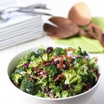 Lightened Broccoli Salad