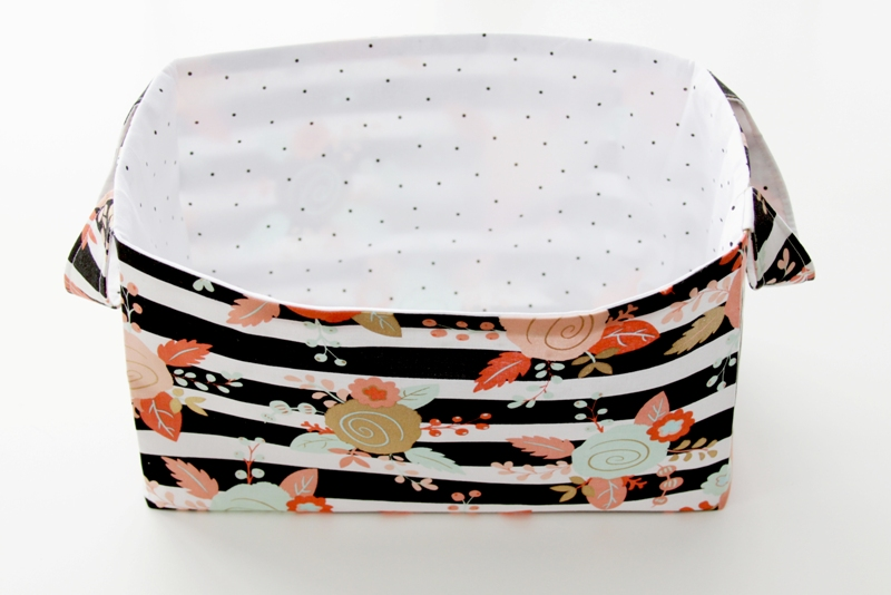 Pressing Fabric Basket