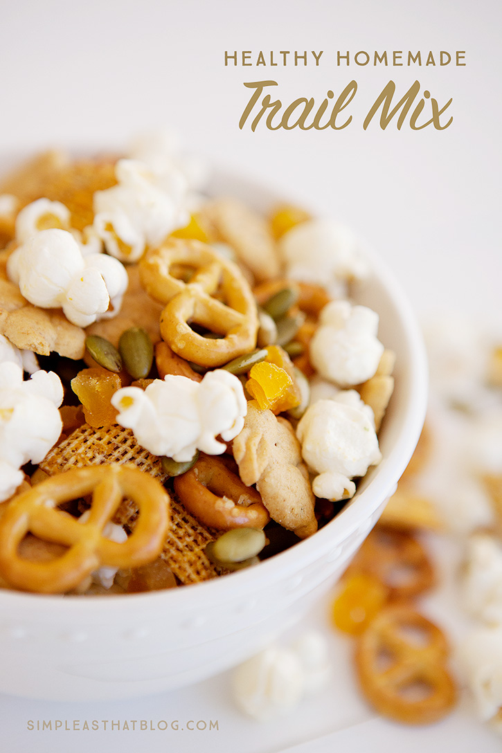 Healthy Homemade Christmas Gifts: Healthy Homemade Trail Mix