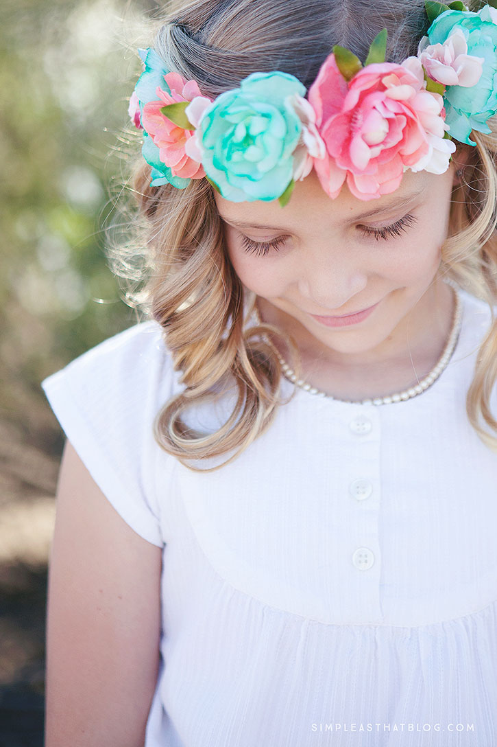 How to make a floral headband izmirmasajfo