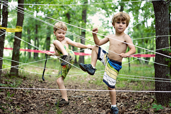 Mud Run Obstacle Course