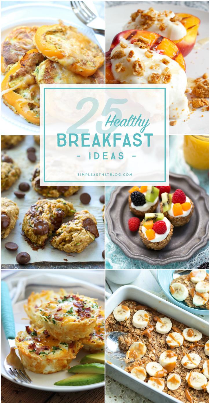 A List Of Healthy Breakfast Foods