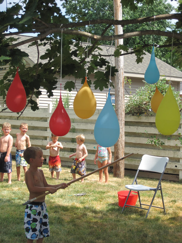 water balloon pinatas milk allergy mom