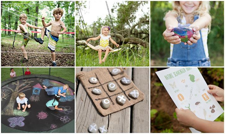 25 Ideas For Backyard Fun
