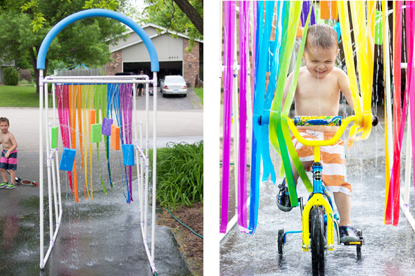 DIY Kid Car Wash