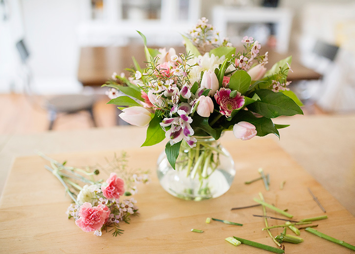 Easy Fresh Flower Arrangements