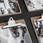 DIY, Easy-to-Switch Photo Collages and Upcycled Command Center