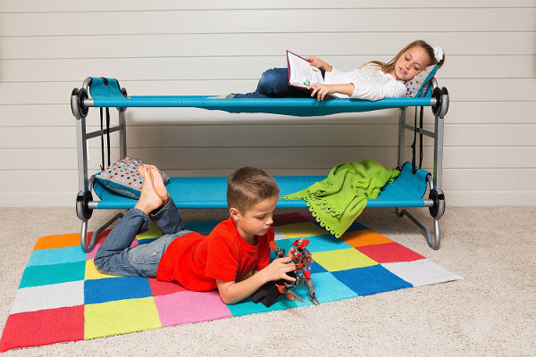 Portable Bunk Beds // Essential Outdoor Family Adventure Gear