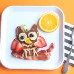 Fruity Owl Pancakes