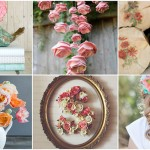 25 Beautiful Floral Crafts