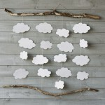 DIY: Make a romantic and rustic wall decor piece