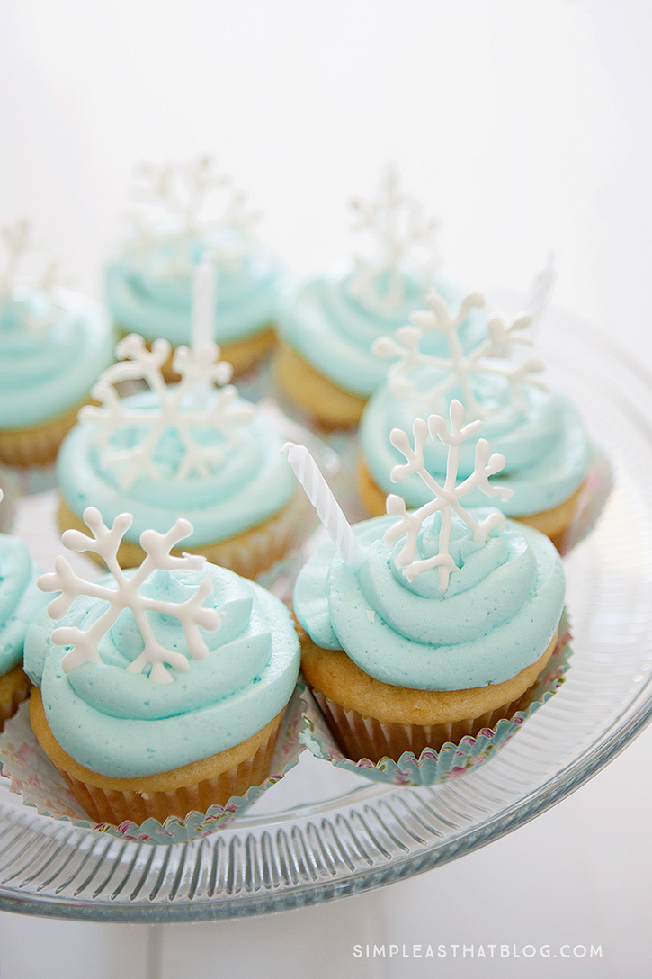 How to throw a simple snow princess party!