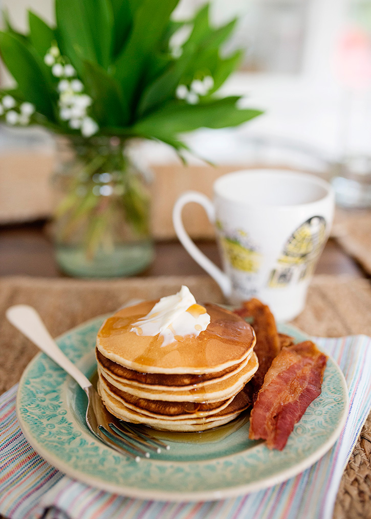 Sunday Morning Pancakes Recipe — Dishmaps