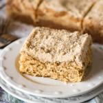 Brown Sugar Vanilla Crumb Cake