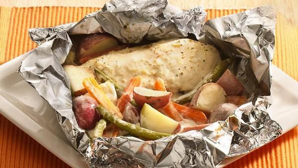 Parmesan Chicken Packet