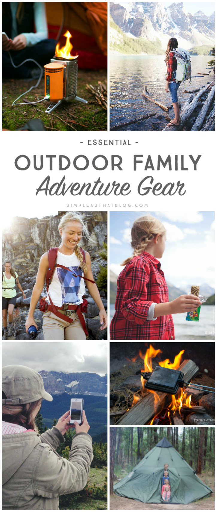 Essential Outdoor Family Adventure Gear