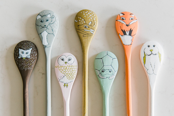 Woodland Creatures Spoon Puppets
