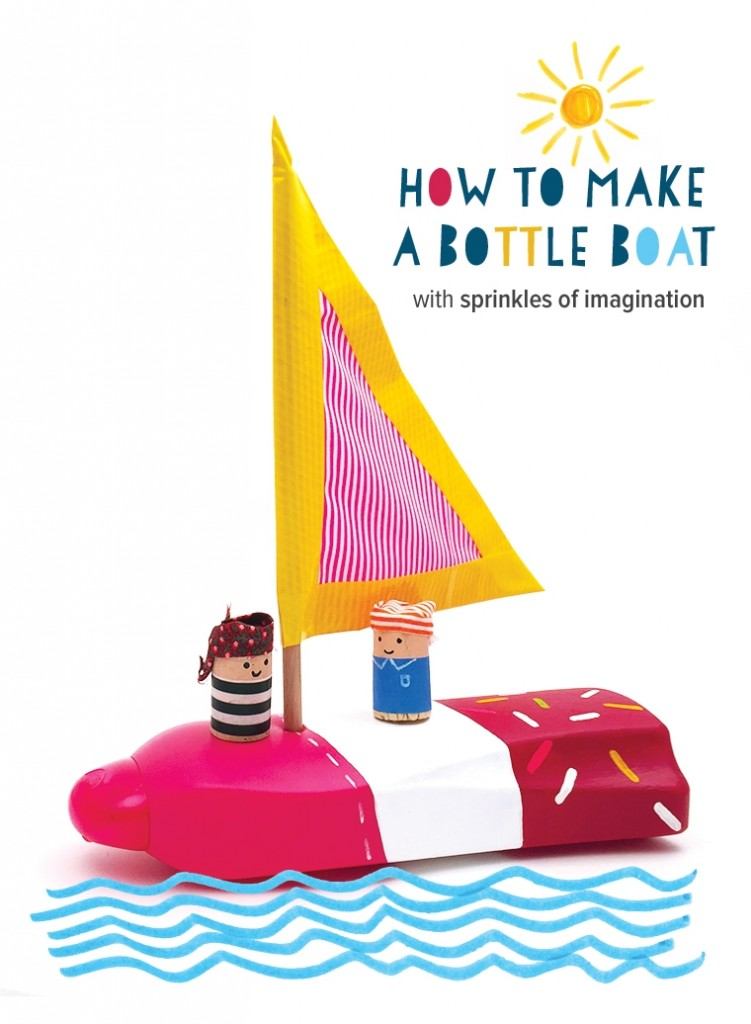 Bottle Boats for Racing