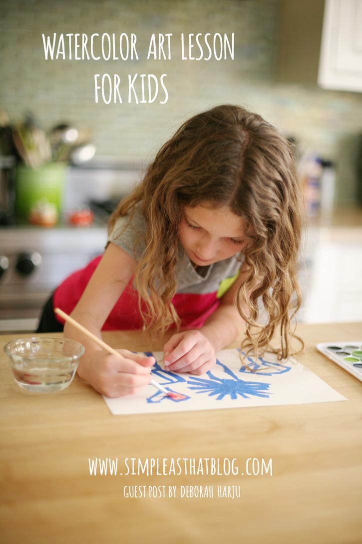 Watercolor Art Lesson