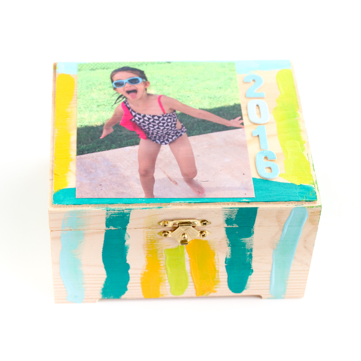 DIY Summer Memories Box