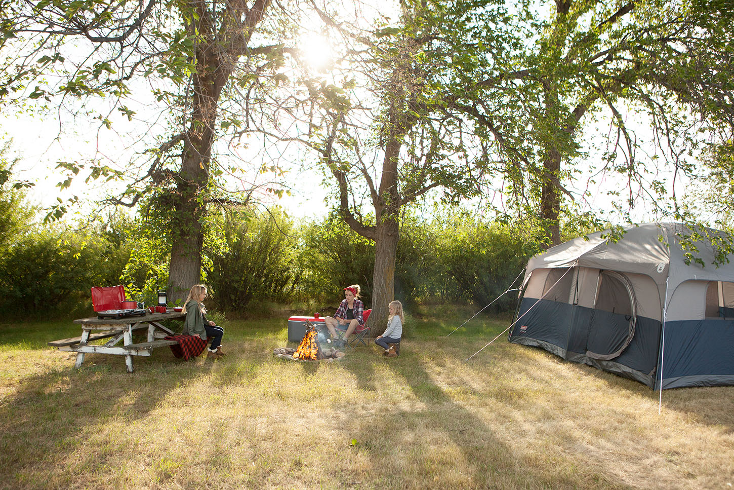 Getting outside doesn't have to mean adventuring far from home. Make special memories by planning a backyard camping adventure this summer!