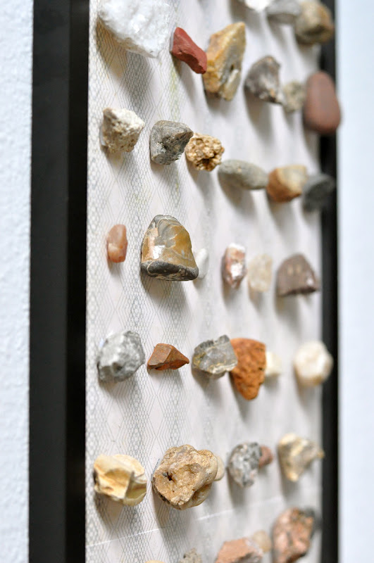 framed rock collections