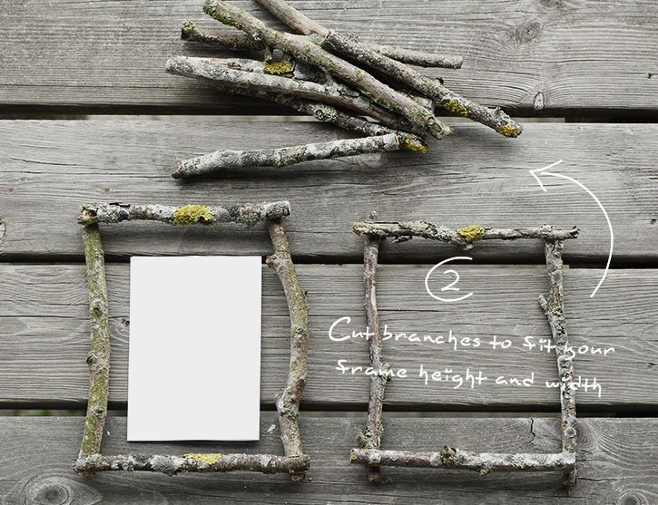 DIY Rustic Photo Mobile