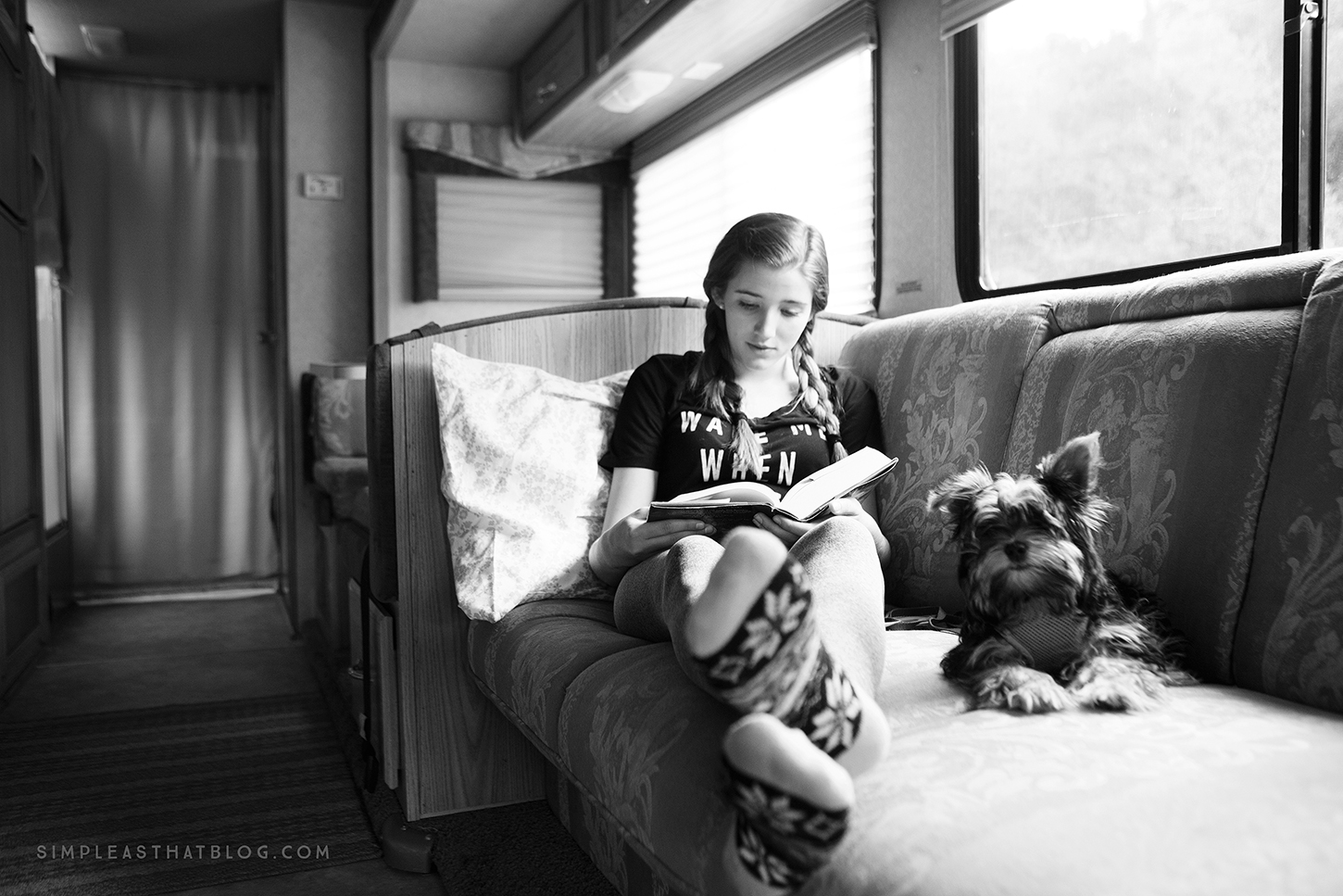 "When your ""home away from home"" is on WHEELS, good things happen. 