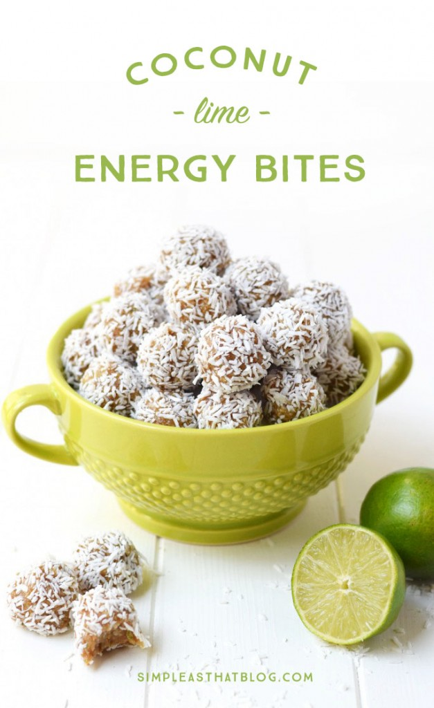 These little bites are the perfect snack! Gluten free, made with only four healthy ingredients and no refined sugar!