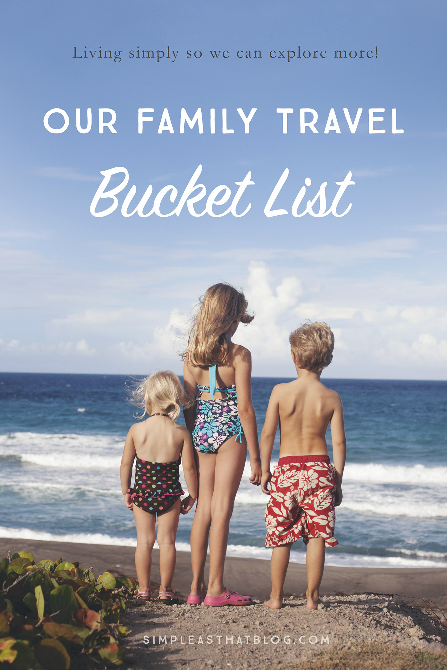 Travel. Each new destination allows you to connect with your family, the majesty of nature, and the novelty of a different culture. Today I'm sharing the top 6 destinations on our family's travel bucket list—and I'd love to hear yours, too!