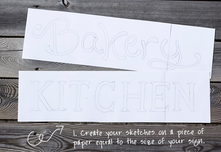 And easy sign painting tutorial
