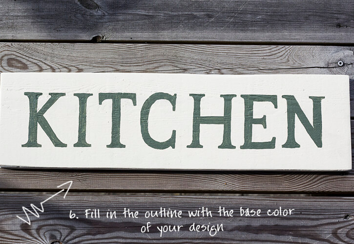 byannika_kitchen_sign_painting_base_color_filling