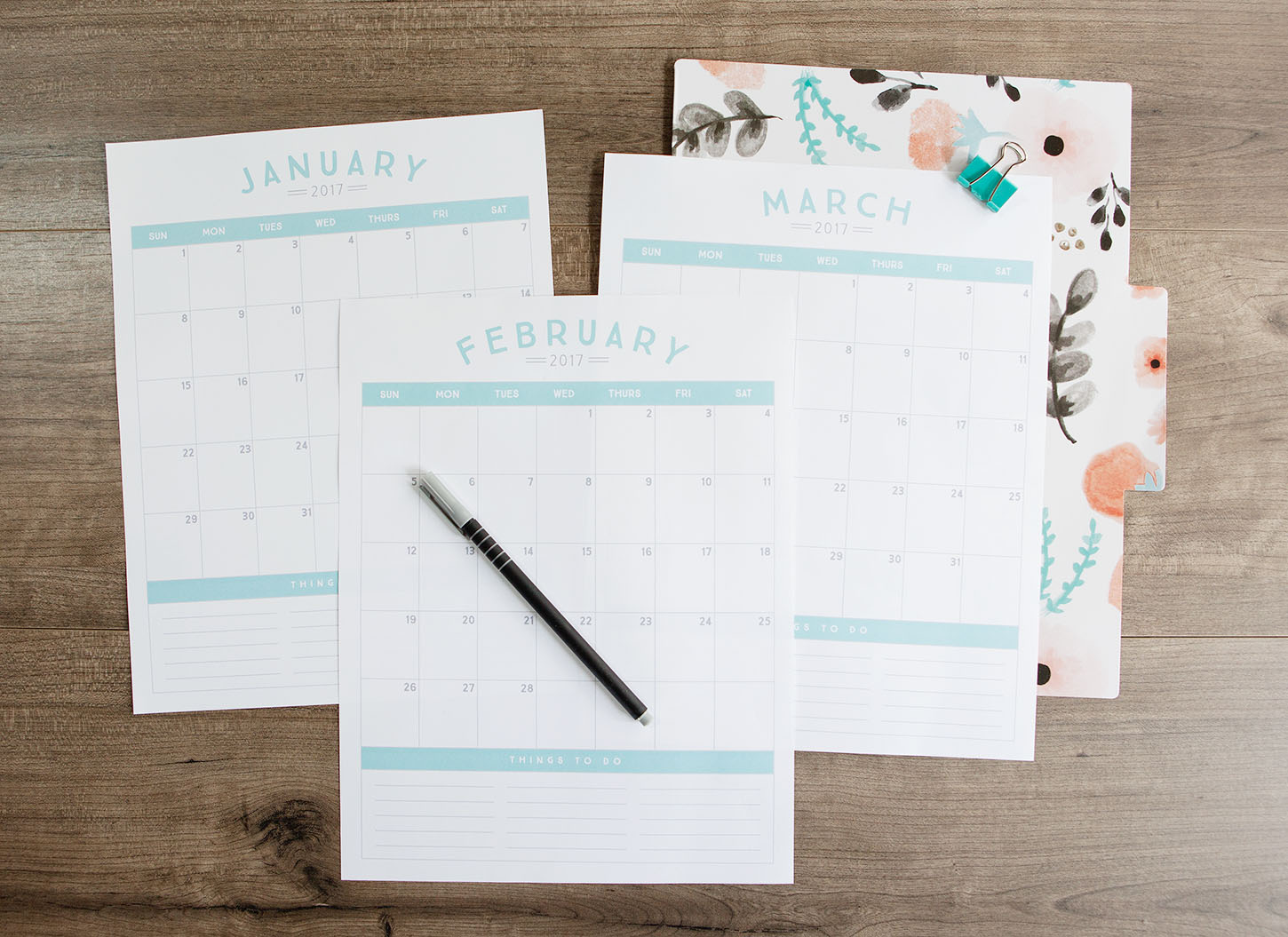 Calendar Planner Tool : Free printable calendar simple as that