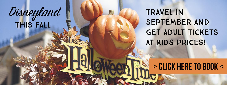 Visit Disneyland this Fall!
