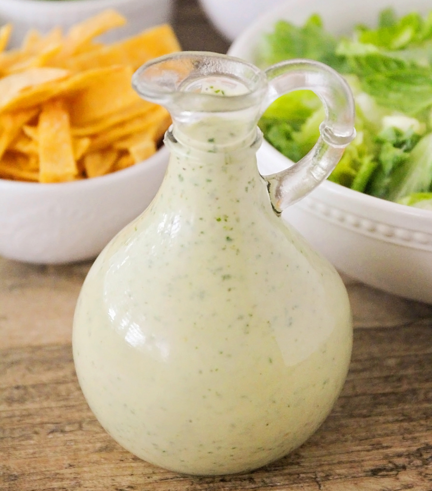 This Creamy Lime-Cilantro Dressing is long on taste and short on prep time. Pair it with our Southwest BBQ Chicken Salad for a delicious and healthy meal!