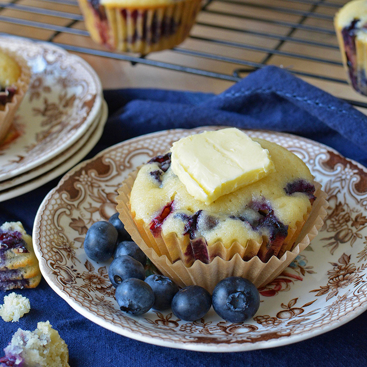 Sweet Blueberry Muffins