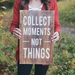 Collect Moments – Not Things Home Decor Giveaway