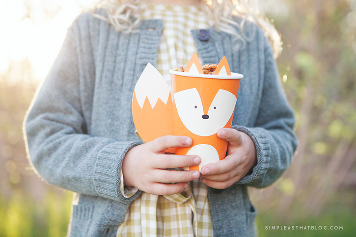 Woodland Paper Cup Crafts