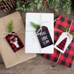 Free Buffalo Check Plaid Christmas Printables