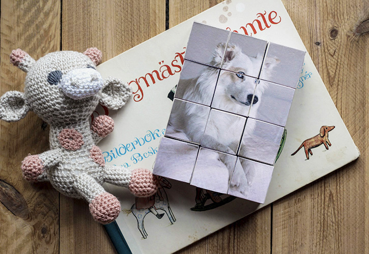 Personalized Christmas Gift Create Diy Wood Block Photo Puzzle