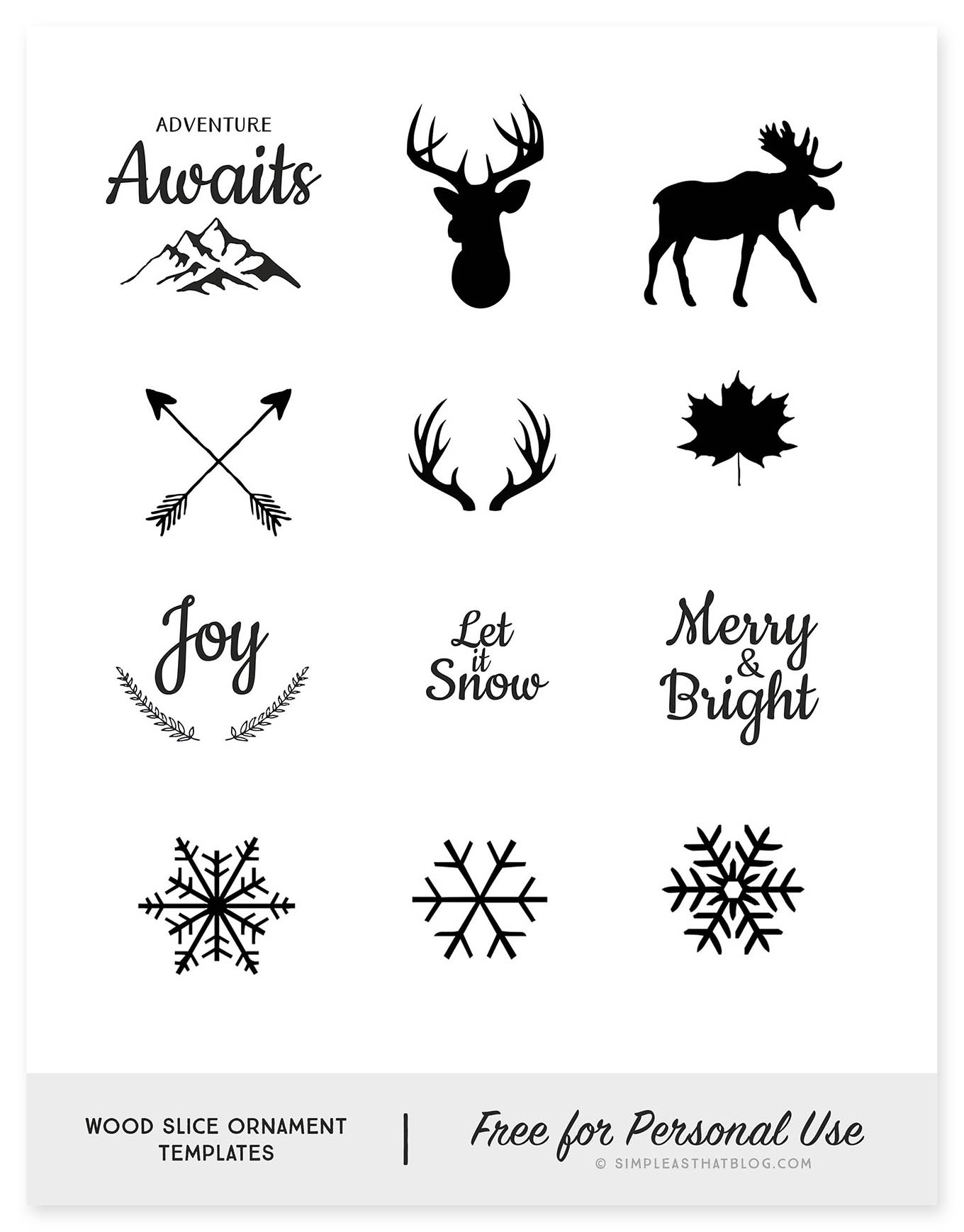 photo relating to Printable Ornaments Template called Picket Cut Ornament Template - Easy as That