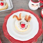 Rudolph the Red-Nosed Reindeer Cinnamon Rolls
