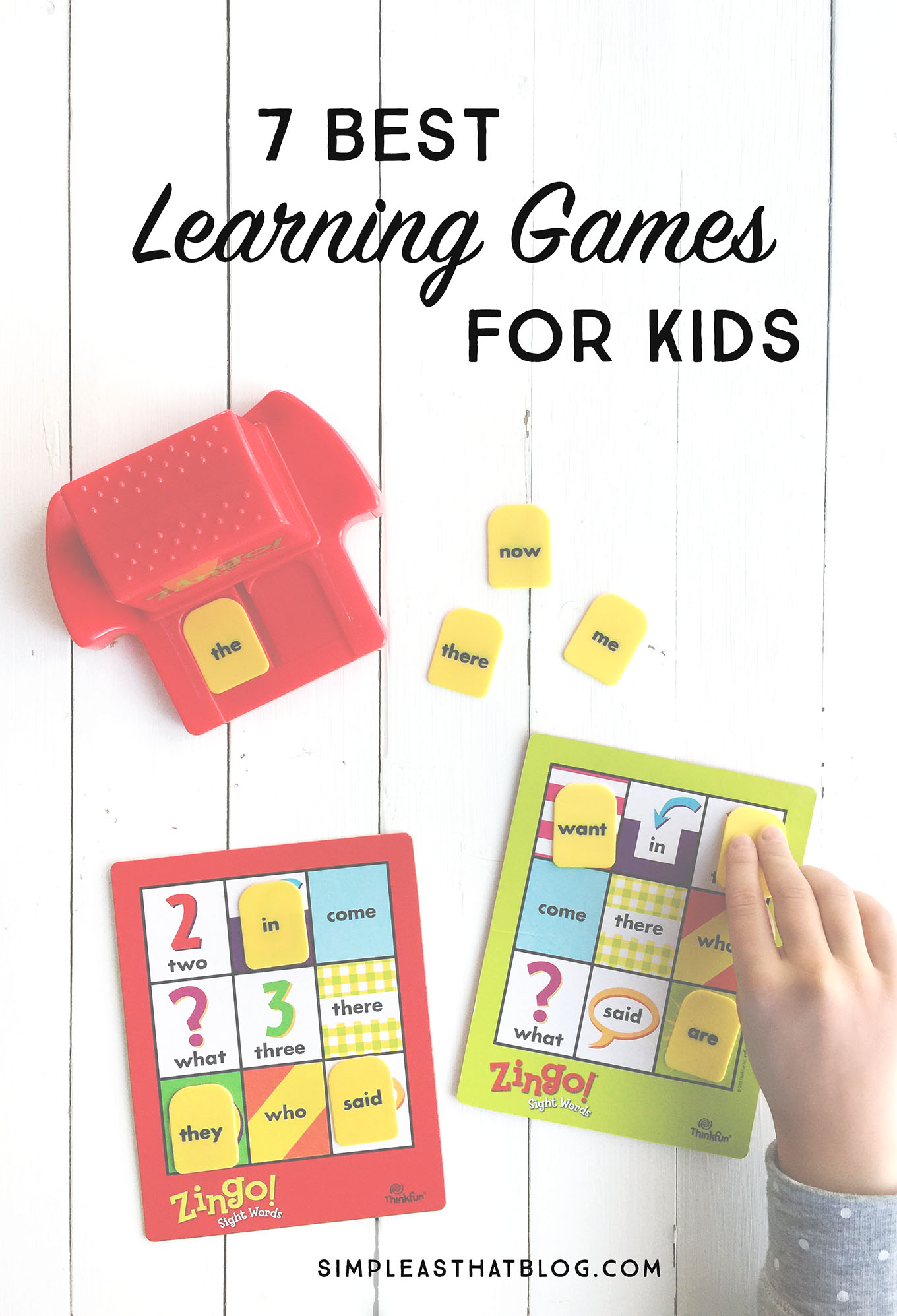 Disguise learning as play with these fun educational games for elementary age kids.