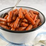 Glazed Slow Cooker Carrots