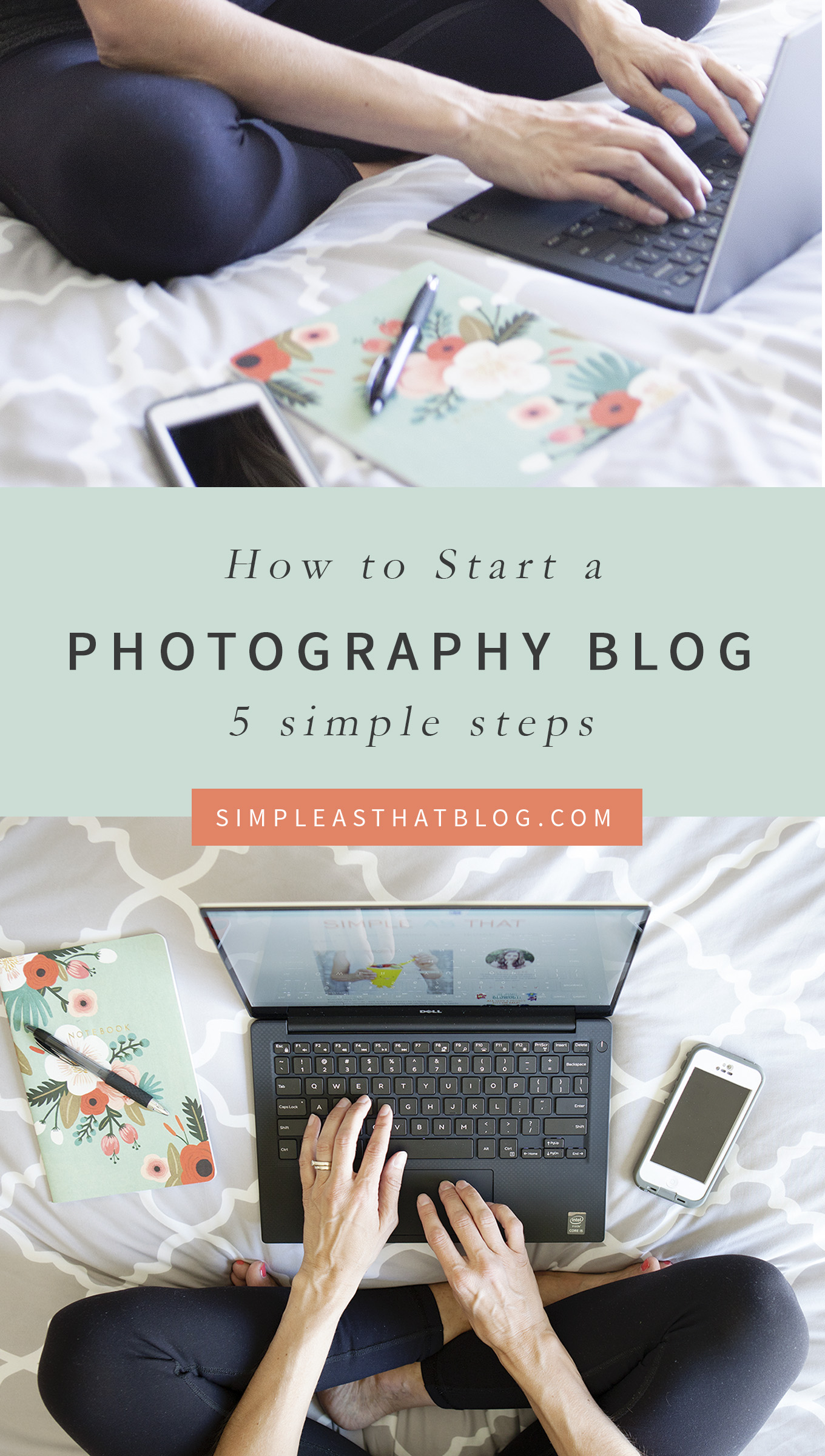 Whether you want to connect with like-minded women or to launch a professional photography business—5 simple steps to starting a photography blog you'll be proud of!